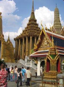 Temple complex Bangkok