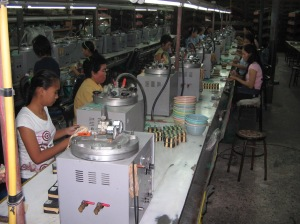 Bangkok Jewellery factory