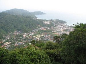 Kata Beach and over the hills