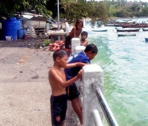 Sea Gypsy children