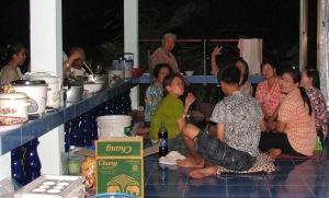 Thai birthday party