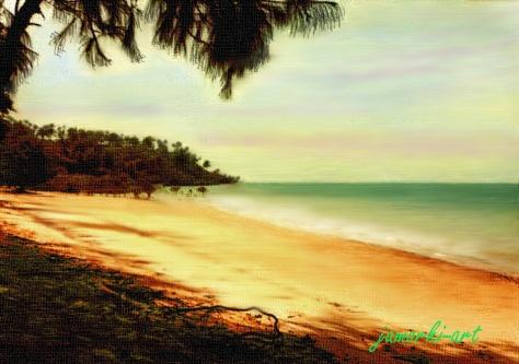Beach near Banjul (1979)