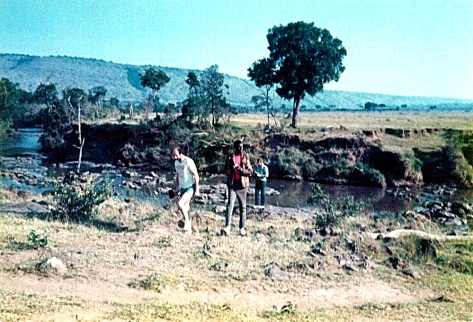 Before - The Mara river - 1980