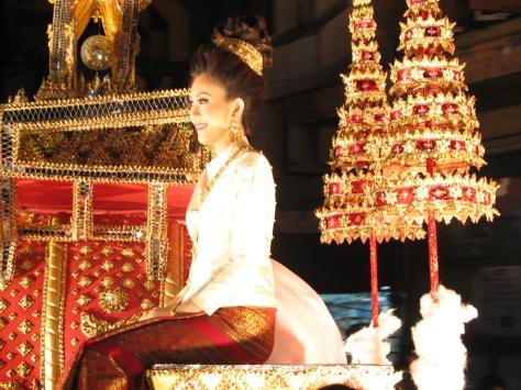 Loi Krathong Festival in Chiang Mai
