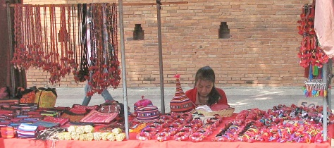 Hill Tribe trader - Chiang Mai