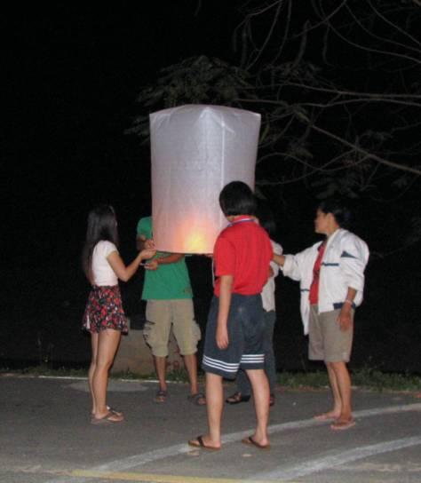 Lanterns away