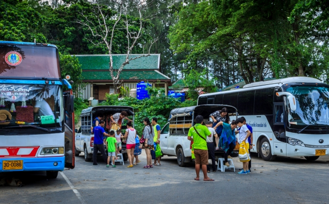 How to plan a public transport trip in Phuket