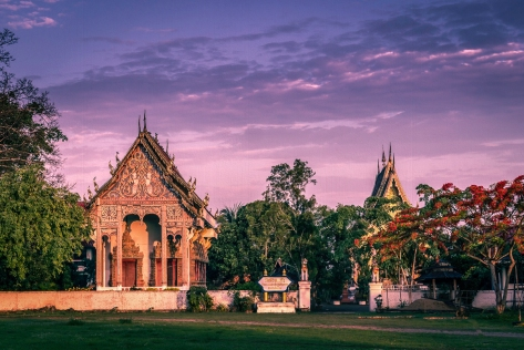 Huai Kaew village temple. Near Chiang Mai
