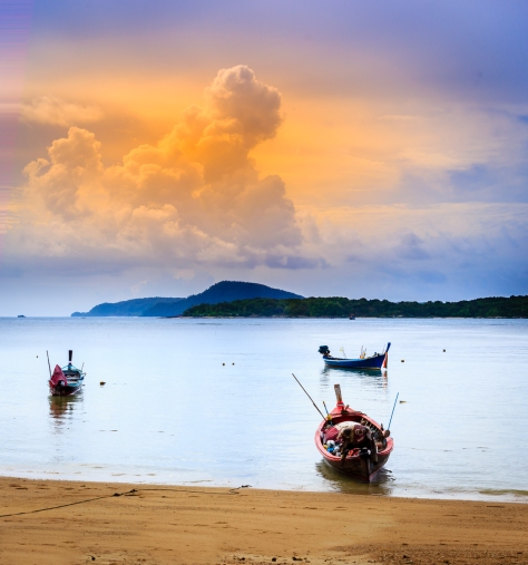 Sunrise in Rawai Bay - August 2015